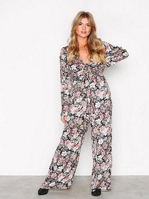 Jumpsuits & playsuits - Glamorous Vintage Floral Jumpsuit Floral