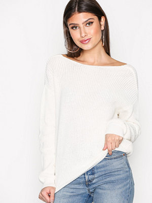 NLY Trend Tie Back Knit Sweater Vit