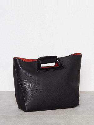 Topshop SALEM Tote Bag Black