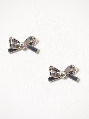 kate spade new york örhängen Bow Studs Silver