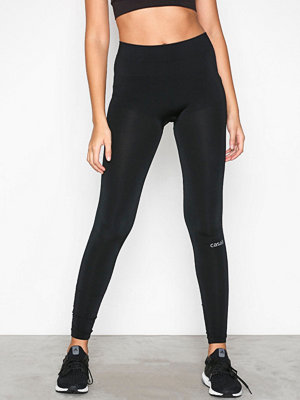 Casall Seamless Rib Tights Svart