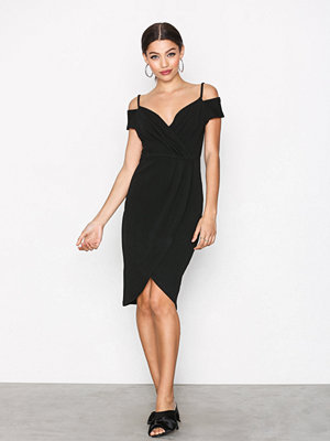 Ax Paris Cold Shoulder Dress Black