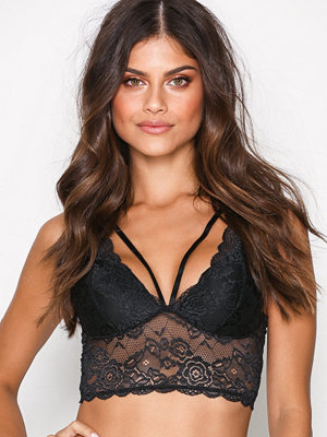 BH - Only onlCHLOE Lace Bra W/Strings Acc Svart