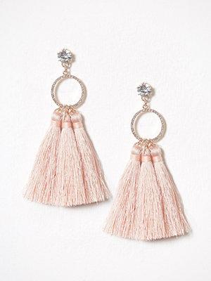 River Island örhängen Short Tassel Earring Light Pink
