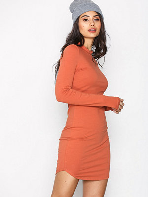 NLY Trend Off Duty Dress Rust