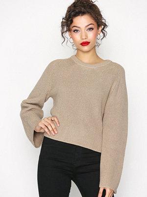 Calvin Klein Jeans Suvi Crew Neck Sweater Beige