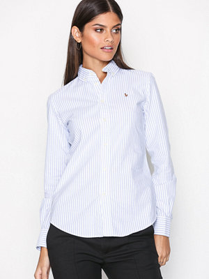 Polo Ralph Lauren Ngl Kendal-Long Sleeve-Shirt Blue/White