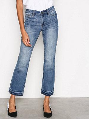 Vero Moda Vmtailor Nw Kick Flare Ankle Jeans Blå