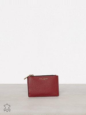 Plånböcker - Marc Jacobs Top Zip Multi Wallet Maroon