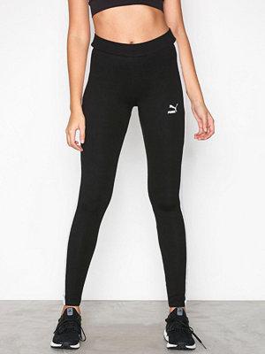 Sportkläder - Puma Classics Logo T7 Legging Svart