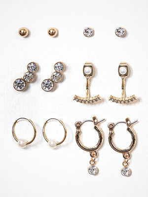 NLY Accessories örhängen Mix Studs Multipack Errin Gold