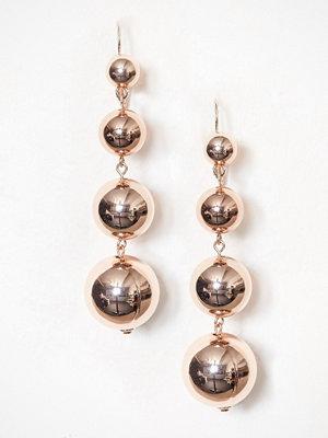 NLY Accessories örhängen Ball Drop Earring Rosegold