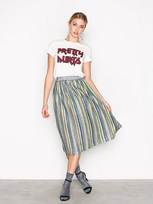 Y.a.s Yassassy Pleated Skirt Svart