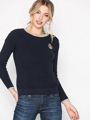 Tröjor - Lauren Ralph Lauren Cait Sweater Navy
