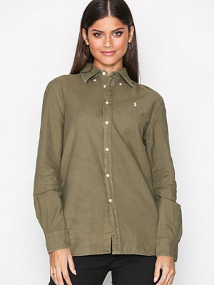 Polo Ralph Lauren Ls Rx Bd St-Relaxed-Long Sleeve-Shirt Green