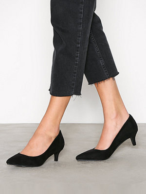 NLY Shoes Low Heel Pump Svart