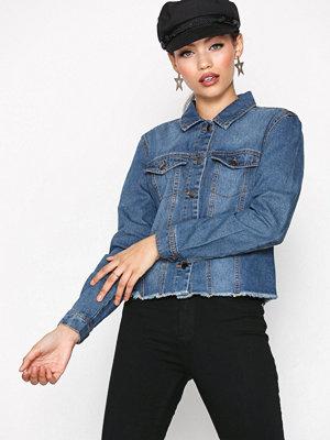 Jacqueline de Yong Jdyannie Denim Jacket Dnm Blå