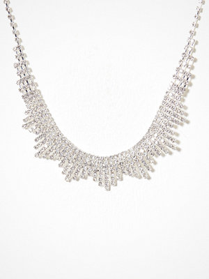 New Look halsband Diamante Spike Necklace Crystal