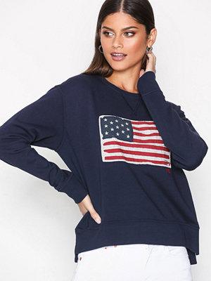 Polo Ralph Lauren Crew Neck Flag Knit Navy