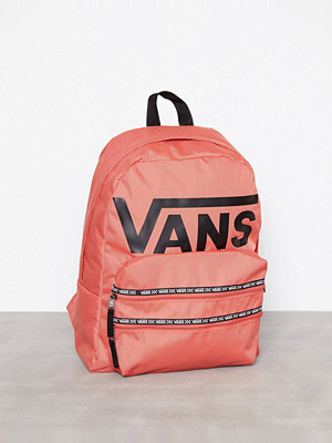 Vans ryggsäck med tryck Sporty Realm II Backpack Coral