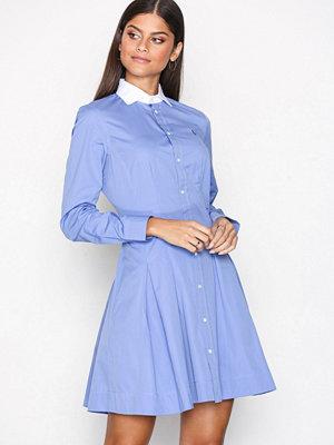 Polo Ralph Lauren Long Sleeve Casual Fit Dress Blue