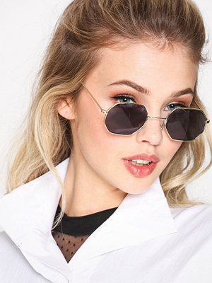 NLY Accessories Octagonal Sunglasses Svart
