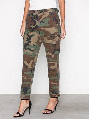 Polo Ralph Lauren byxor med tryck Skinny Cargo Pant Multi