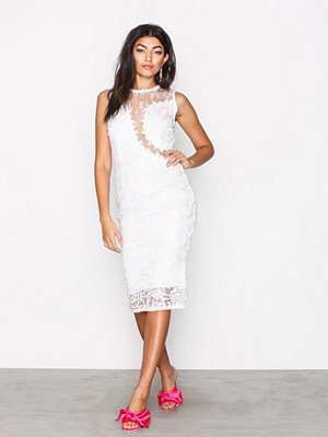 Ax Paris Dreamy Lace Dress White