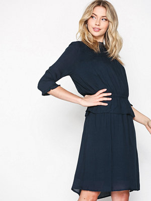 Selected Femme Sfjonina 3/4 Dress Mörk Blå