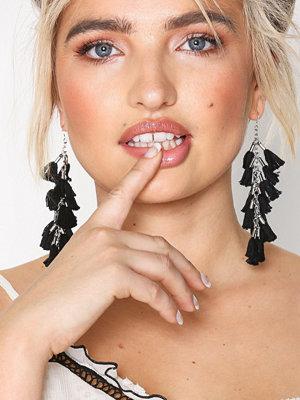 NLY Accessories örhängen Multi Tass Drops Svart