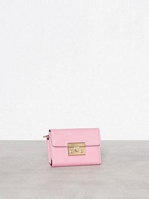 Topshop Push Lock Purse Pink