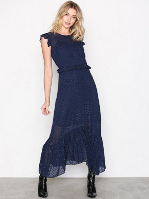 Neo Noir Gerda Dot Dress Blue