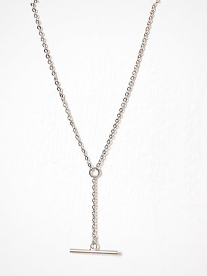 NLY Accessories halsband Horizontal Bar Necklace Silver