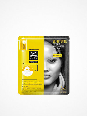 Ansikte - K-Glo Brightening Coconut Bio-Cellulose Sheet Mask Transparent
