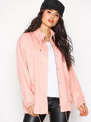 NLY Trend Soft Parka Jacket Rosa