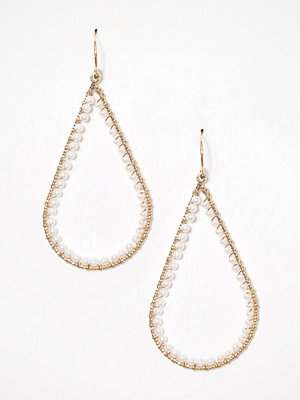 NLY Accessories örhängen Pearl Oval Earrings Guld