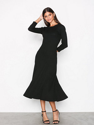 Polo Ralph Lauren Polo Black Long Sleeve Dress Black