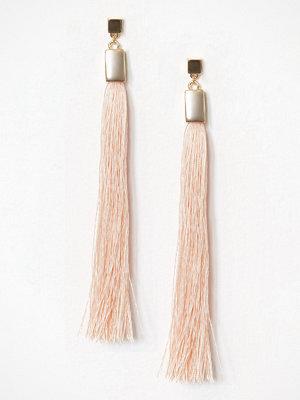 NLY Accessories örhängen Long Tassel Drop E Guld