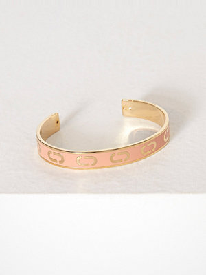 Marc Jacobs armband Icon Enamel Cuff V1 Peach
