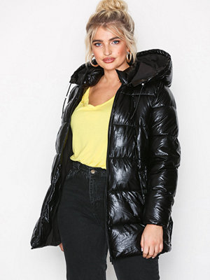 Only svart bomberjacka onlPAULA Oversized Velvet Jacket Ot Black