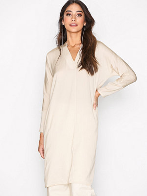 Filippa K Drapey Tunic Dress Bone
