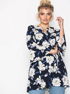 Sisters Point Glans Top Navy/Floral