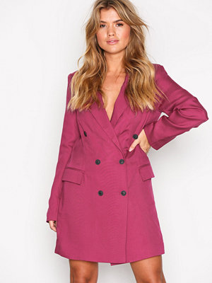 NLY Trend Double Up Blazer Fuchsia