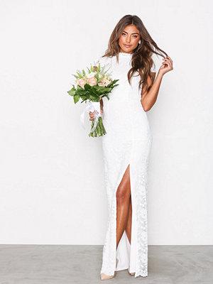 Festklänningar - NLY Eve Rose Lace Gown Vit