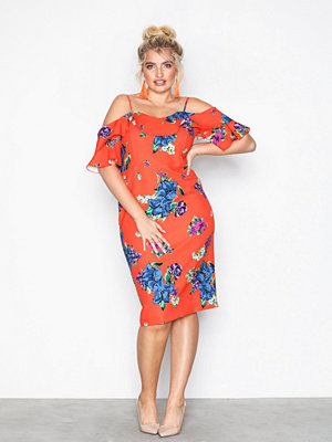 River Island Tanya Dress Orange