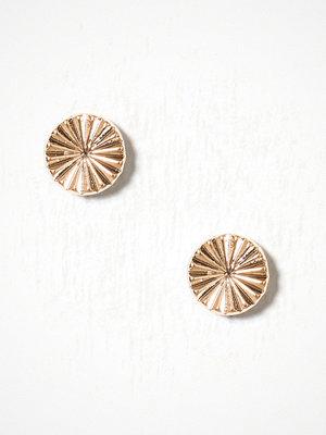 Pieces smycke Pcmalina Earstuds Pb Guld