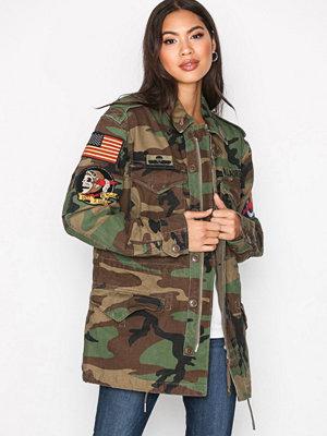 Polo Ralph Lauren Camo Twill Military Jacket Multi