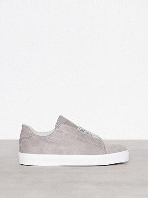Bianco Hidden Laced Up Sneaker Grå