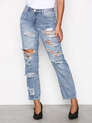 Glamorous Ripped Jeans Stonewash