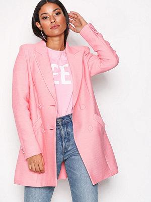 River Island Alexa DB Jacket Pink